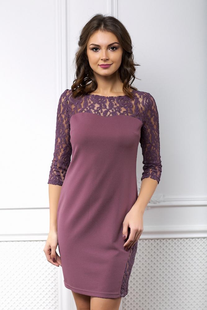 платье цвета лаванды купить